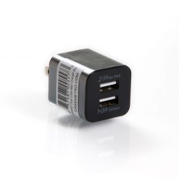 Dual USB Charger - Black