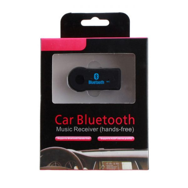 Bluetooth Receiver, Hands-free Car Kit & Wireless Music Adapter