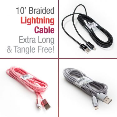10' Braided Lightning Cable