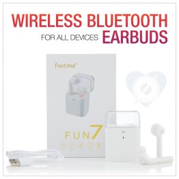 F7 Wireless Bluetooth Earbuds