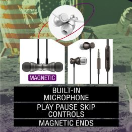 SpaceBuds Magnetic Earbuds