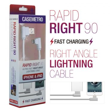 Rapid Right 90 Right Angle Lightning Cable