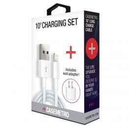 CaseMetro 10' Lightning Cable Charging Set