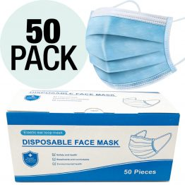 Vertall Disposable Masks 4 Boxes of 50 count
